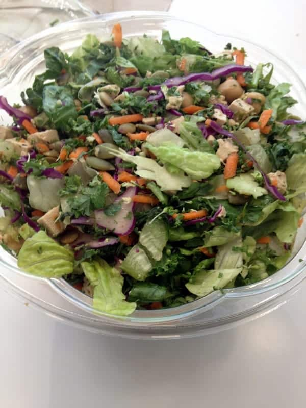 Protein Bar Salad