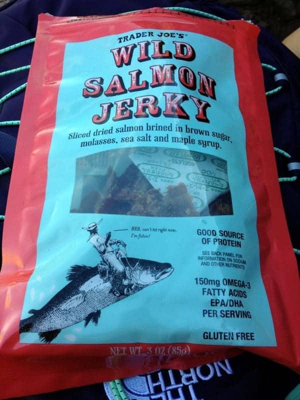 salmon jerkey