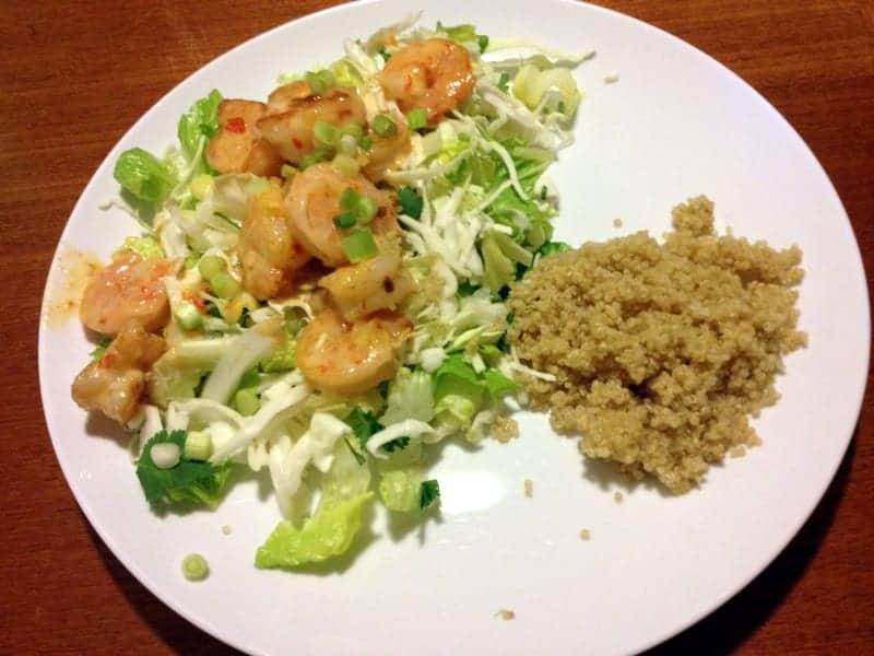 skinny taste - bangin shrimp