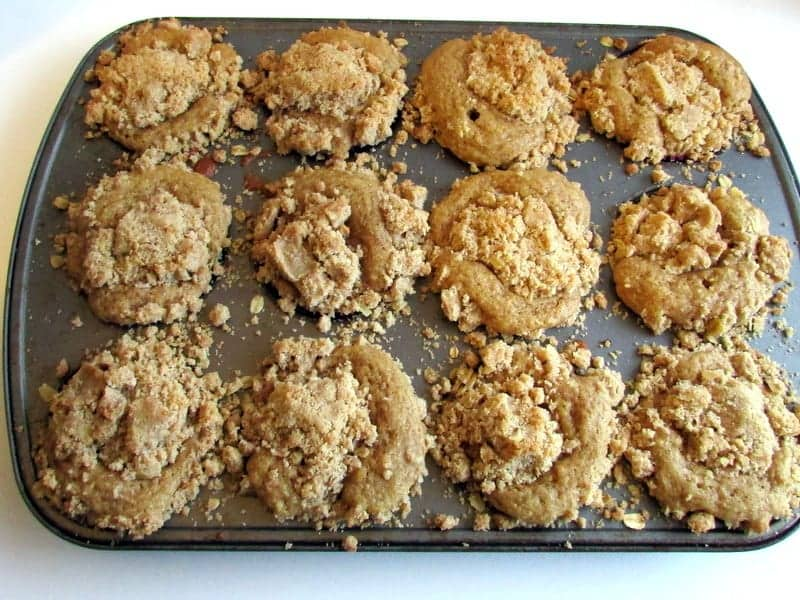Coffeecake Power Muffins