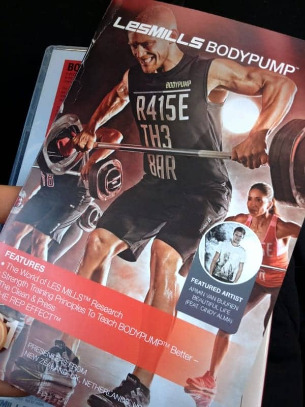 Bodypump - day in the life