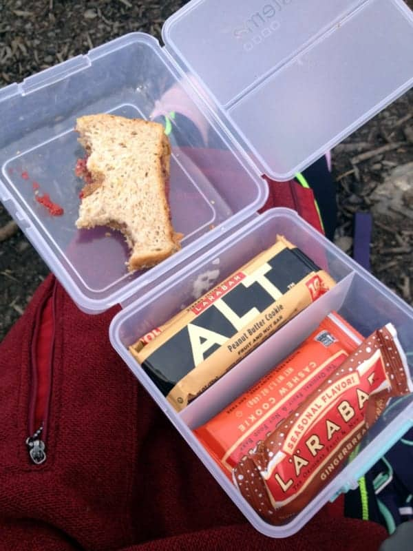 Breckenridge Hiking Snacks