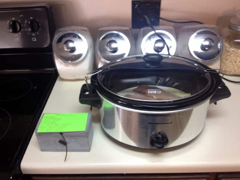 crock pot - day in the life