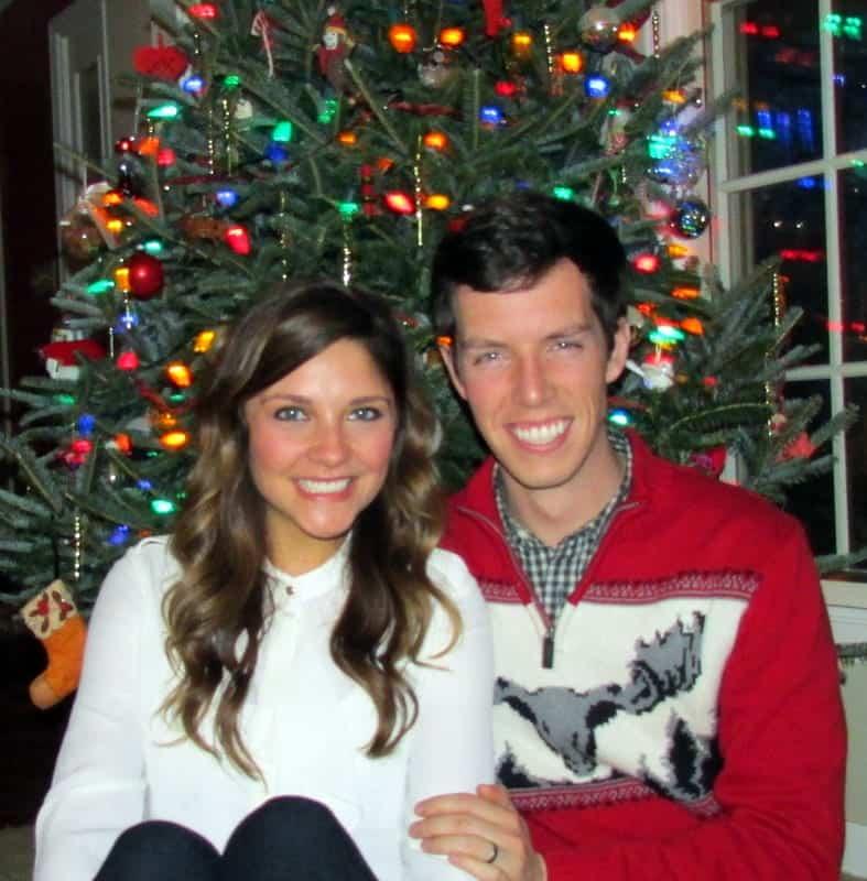Christmas 2014 Brian and Tara