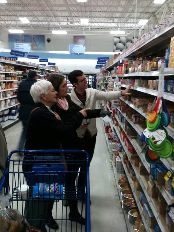shopping with grandma