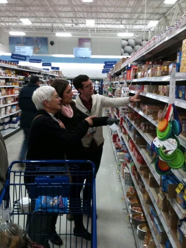shopping with grandma
