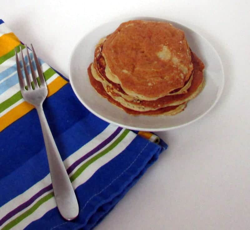 Coconut Flour Pancakes via Treble in the Kitchen