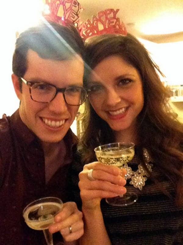 Brian and Tara NYE 2014