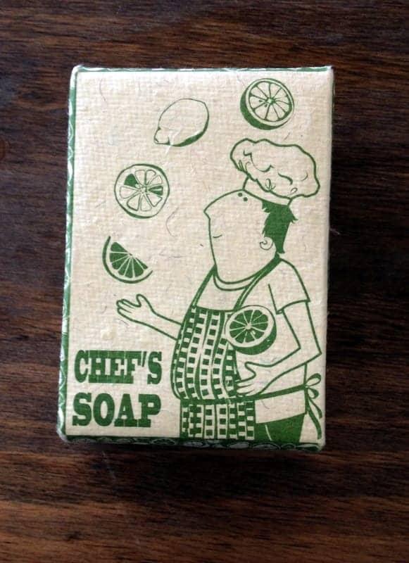 chef's soap