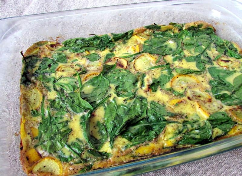 Easy Breakfast Casserole | Treble in the Kitchen gluten free, low fodmap, clean eating