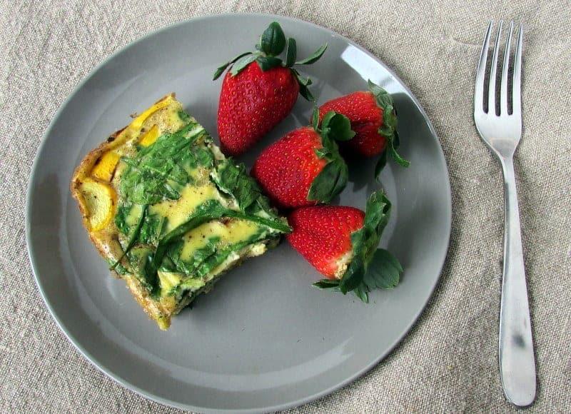 Easy Breakfast Casserole | Treble in the Kitchen gluten free, low fodmap, clean eating