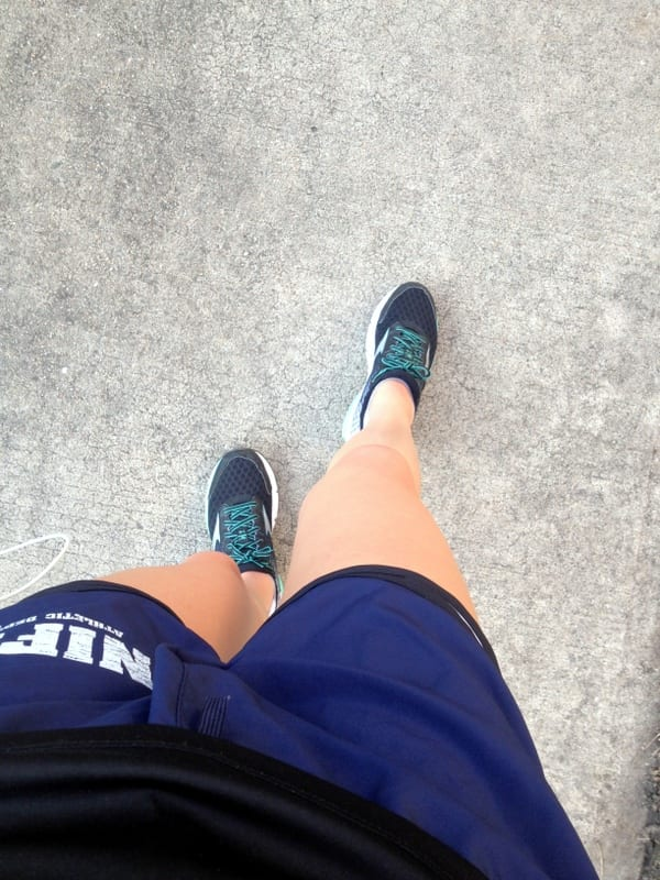 shorts in February