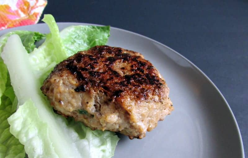 Thai Chicken Burger low FODMAP via Treble in the Kitchen