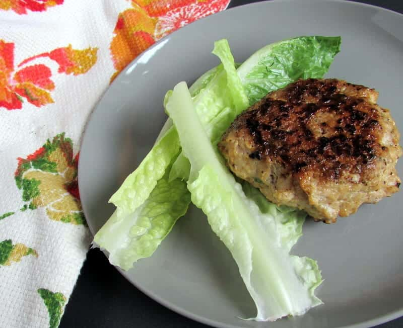 Thai Chicken Burgers via Treble in the Kitchen low fodmap