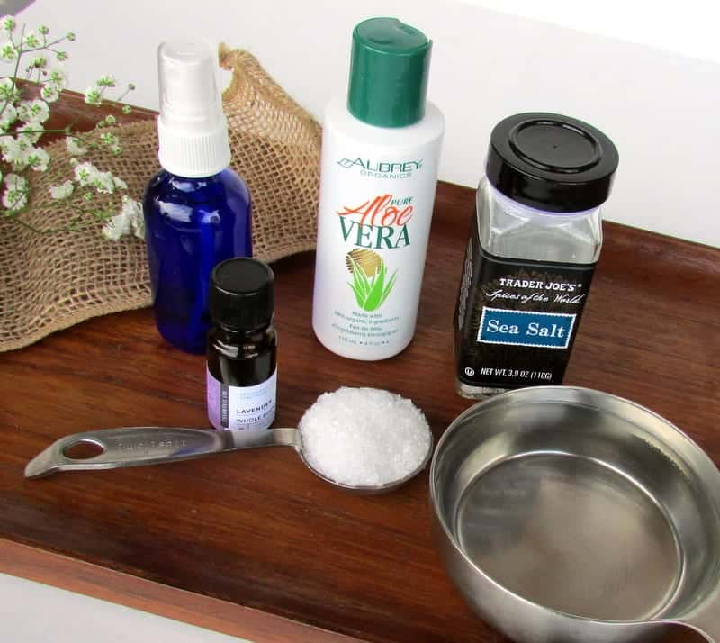 DIY Sea Salt Hairspray via Treble in the Kitchen