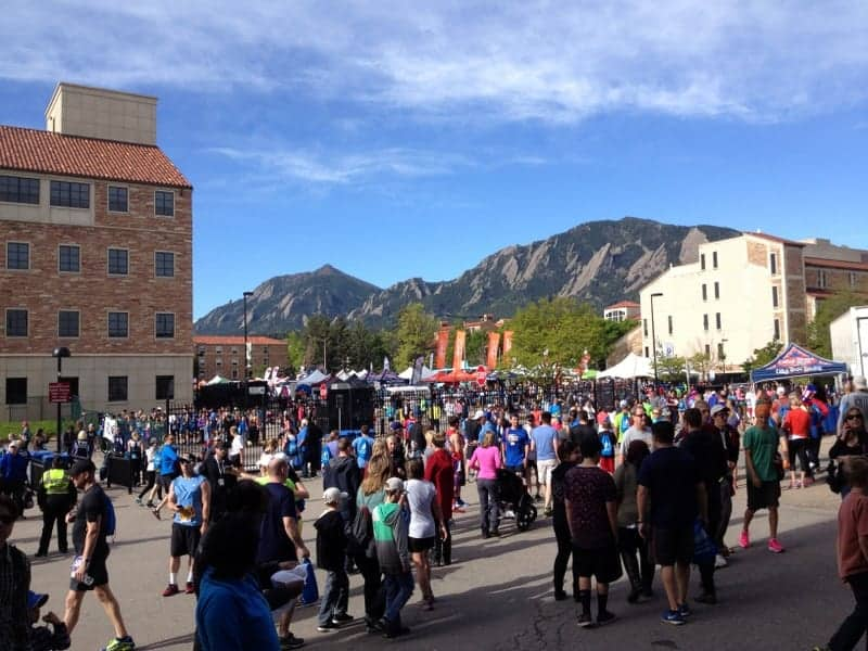 Bolder Boulder 10K via Treble in the Kitchen