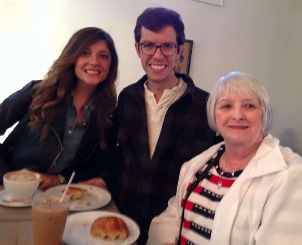 Brian Tara Grandma Aviano's