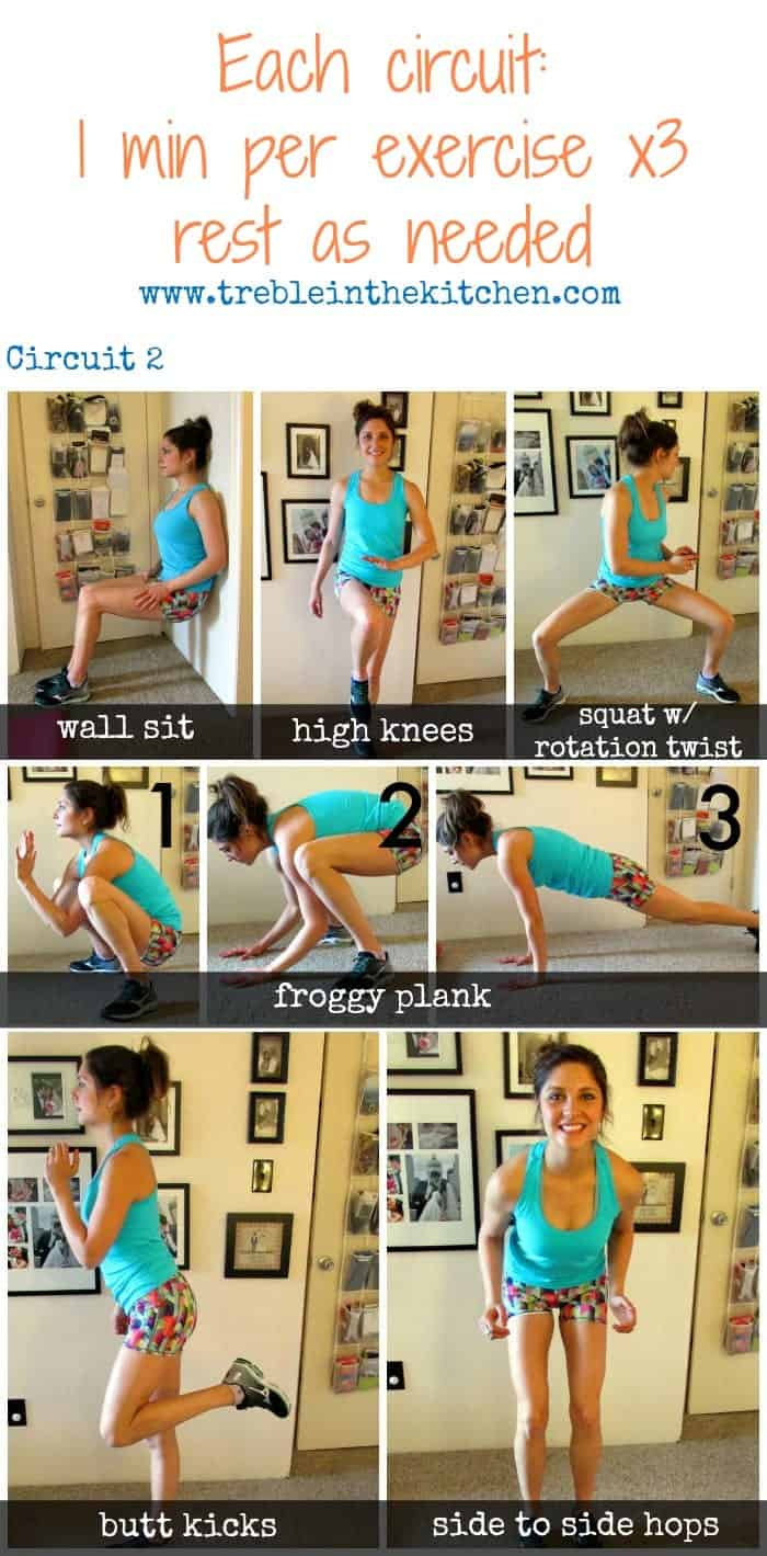 Full Body Circuit 2 via Treble in the Kitchen