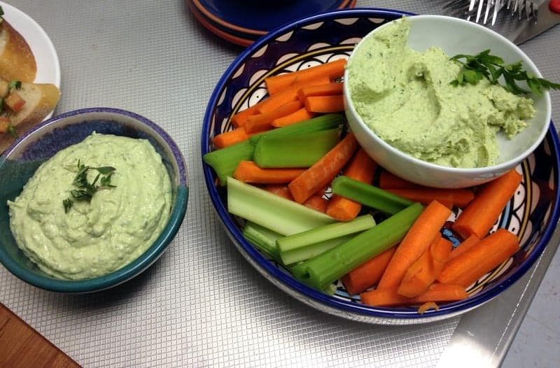 Healthy Appetizer's with Marisa via Treble in the Kitchen