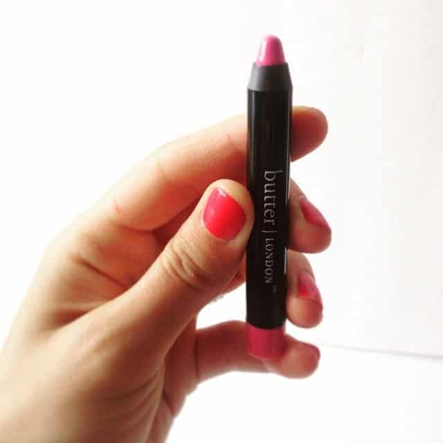 Disco Biscuit aButter London Bloody Lip Crayon via Treble in the Kitchen