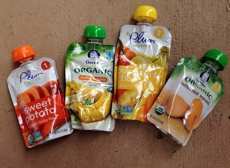Marathon Fuel Baby Food via Treble in the Kitchen