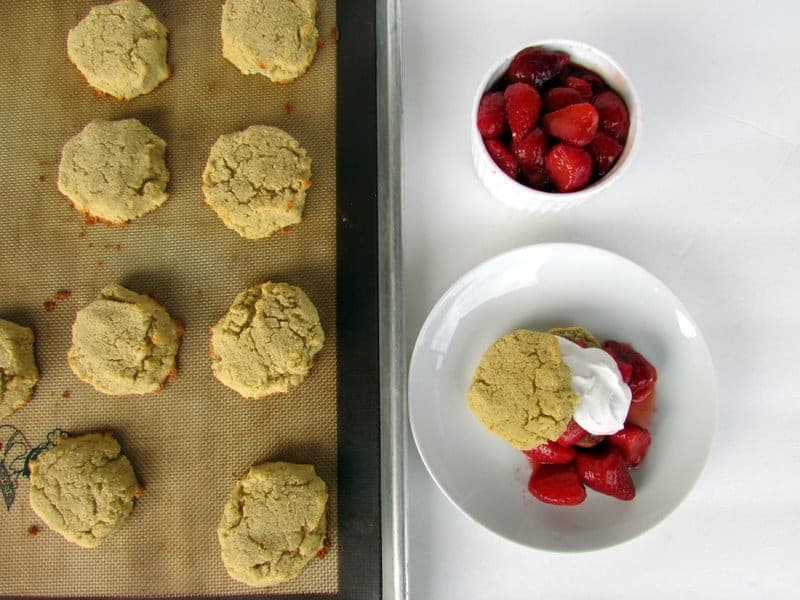 low FODMAP Strawberry Shortcake from Treble in the Kitchen
