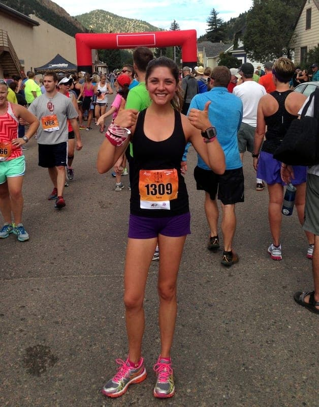 Georgetown to Idaho Springs Half Marathon 2015 | Treble in the Kitchen