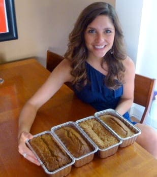 Healthier Zucchini Bread Recipe Project via Treble in the Kitchen