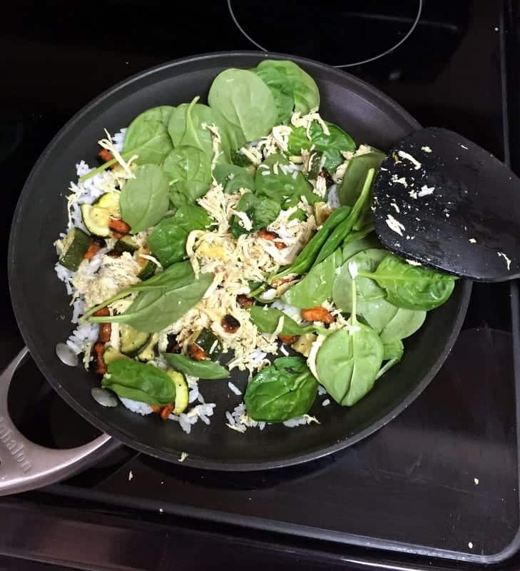 lunch time skillet