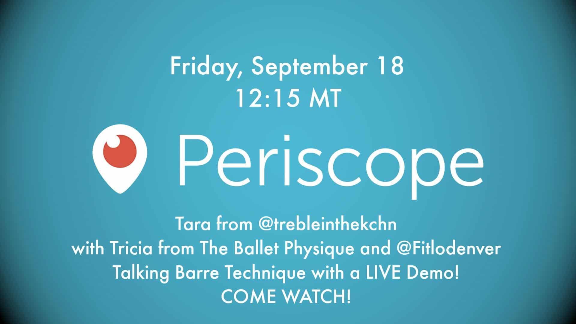 Periscope Promo