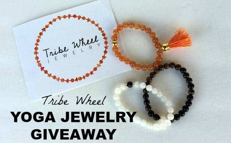 Tribe Wheel Yoga Jewelry Giveaway from Treble in the Kitchen