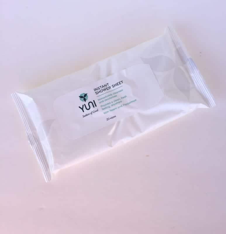 Yuni Instant Shower Sheets
