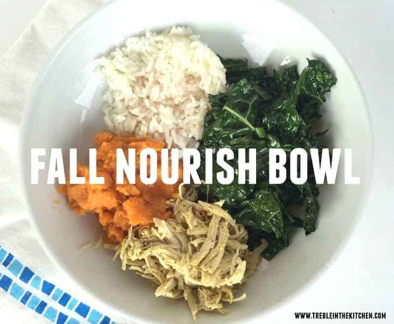 Fall Nourish Bowl via Treble in the Kitchen