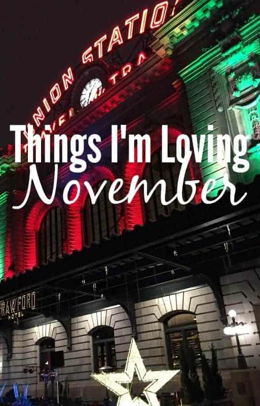 Things I'm Loving November from Treble in the Kitchen