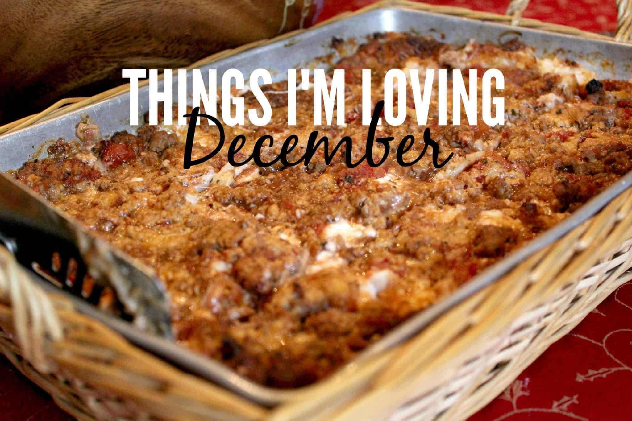 Things I'm Loving December 2015 from Treble in the Kitchen