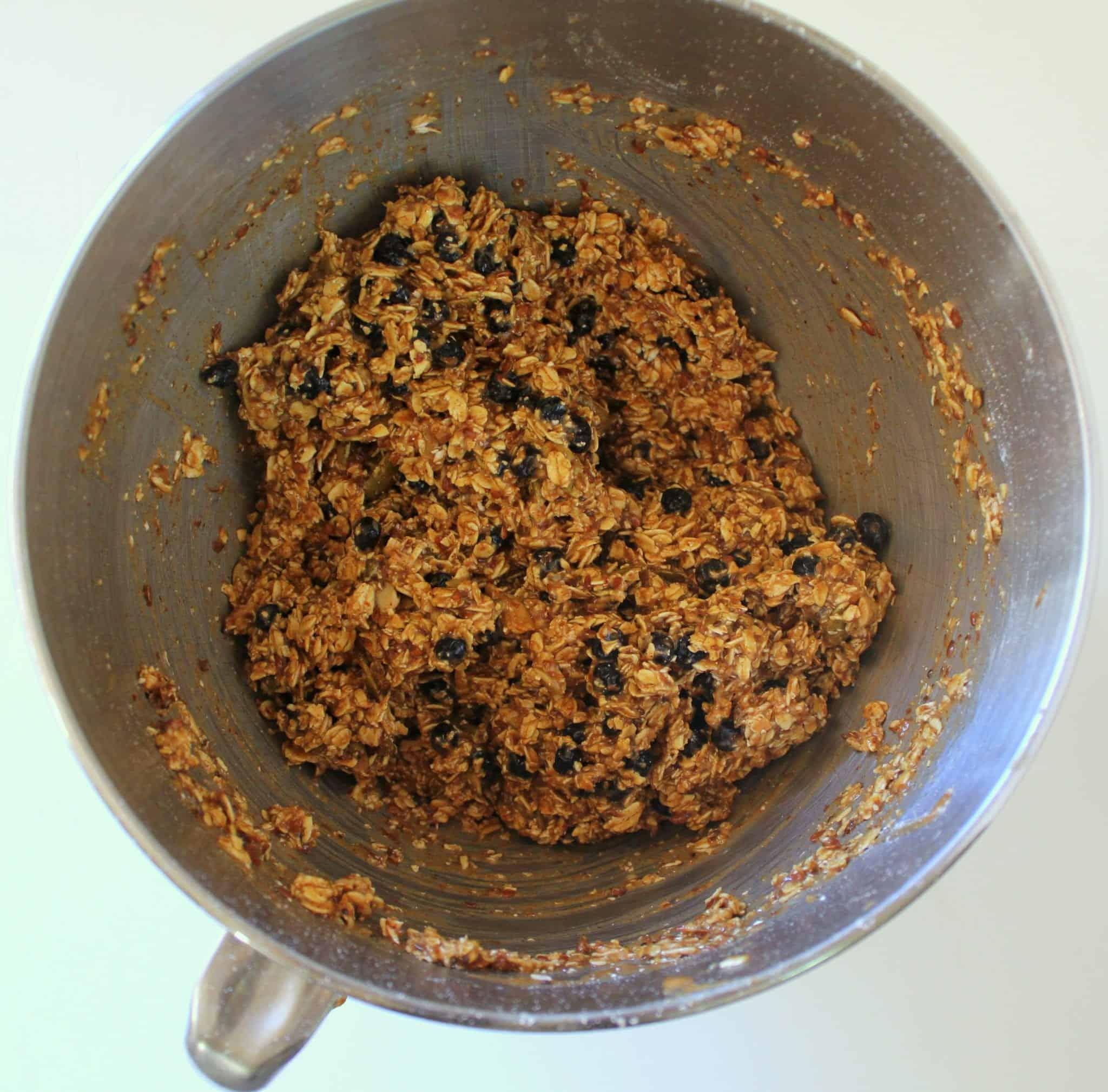 One Bowl Blueberry Lemon Breakfast Cookies