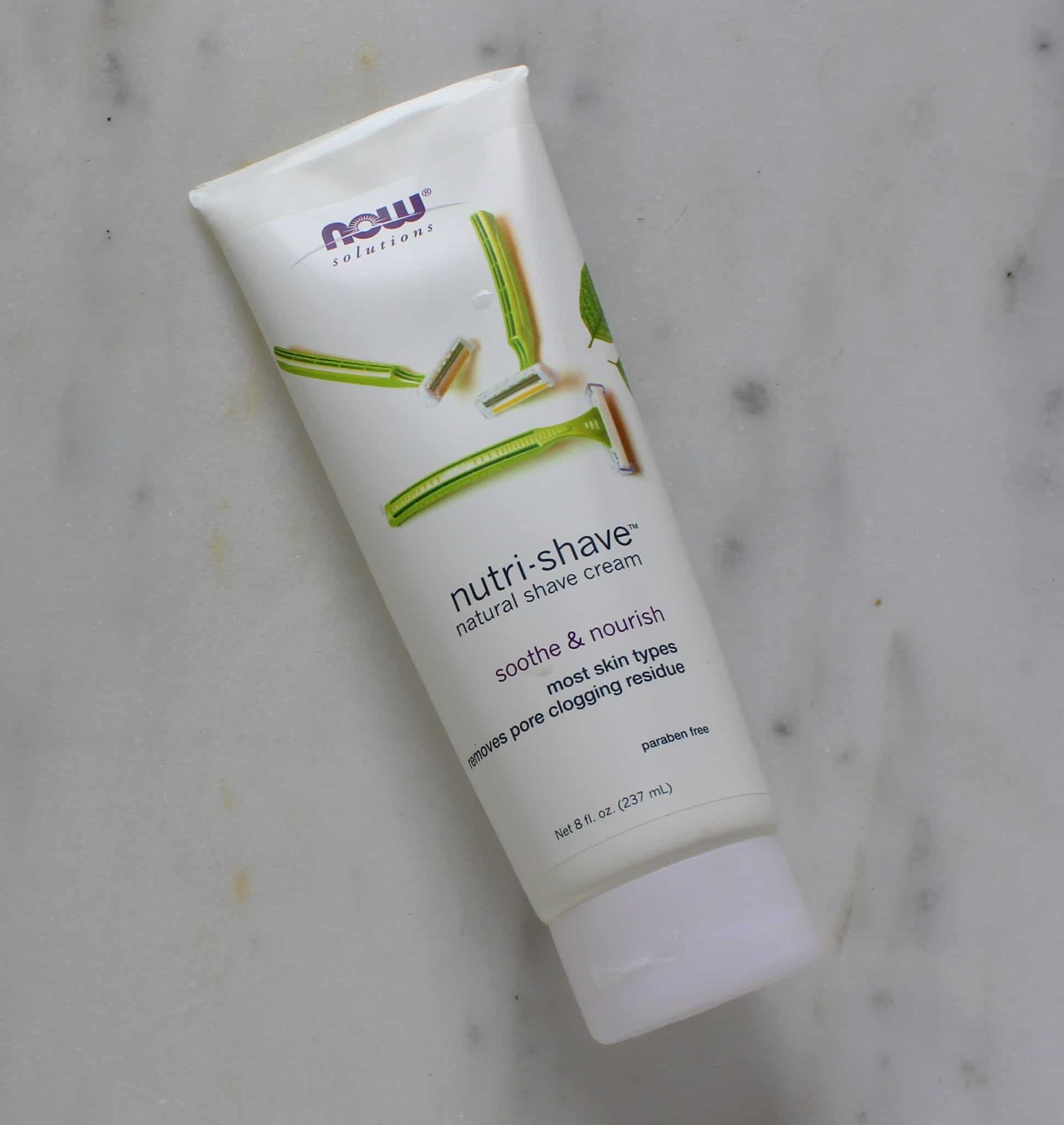 Now Nutri-Shave Shave Cream