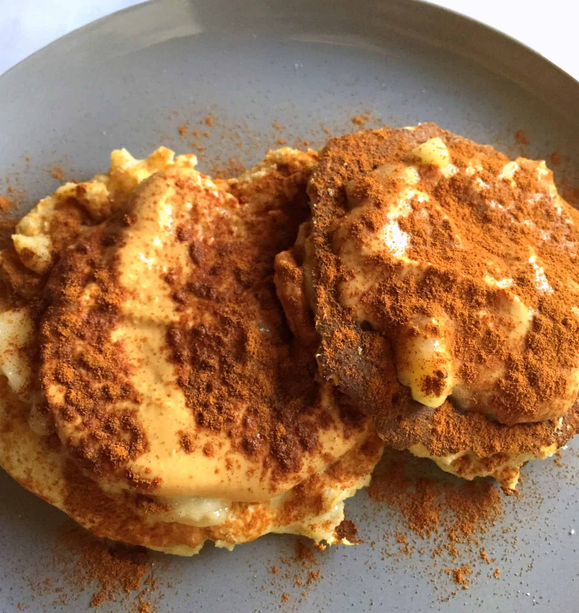 Coconut Flour Pancakes from Treble in the Kitchen
