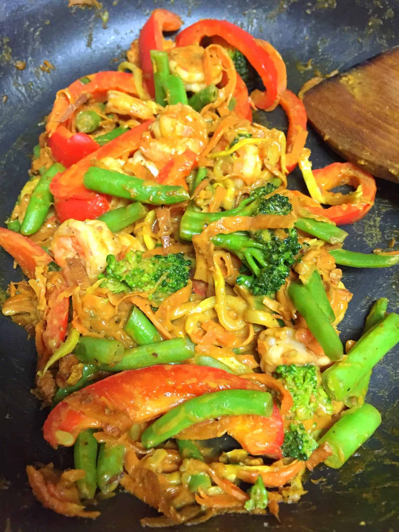 Nutty Stir Fry