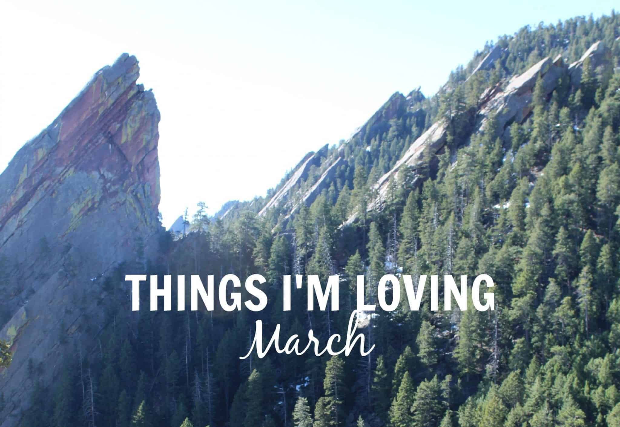 Things I'm Loving March from Treble in the Kitchen