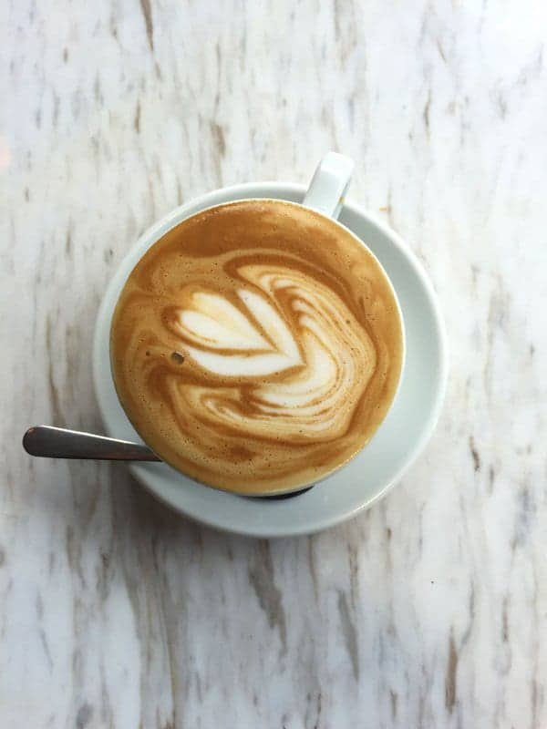 Almond Milk Latte from Amante | Treble in the Kitchen