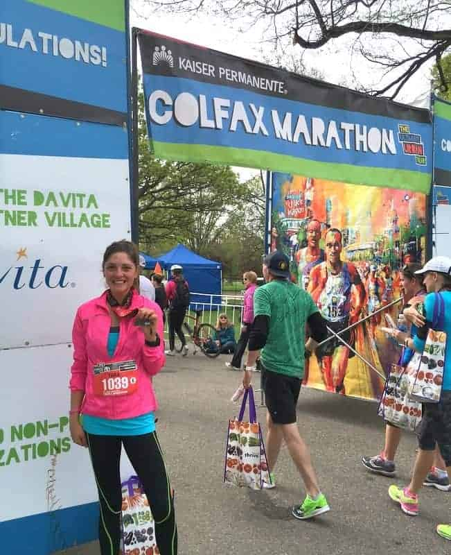 Denver Colfax Half Marathon | Treble in the Kitchen