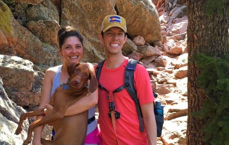 Tara and Brian Flatirons Hike