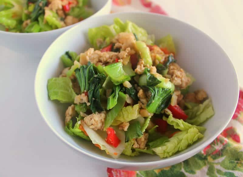 Asian Lettuce Wrap Salad