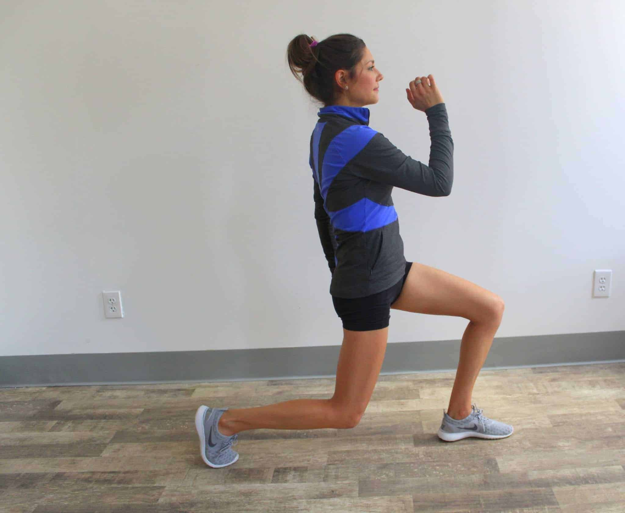 Bodyweight Tabata Workout from Treble in the Kitchen