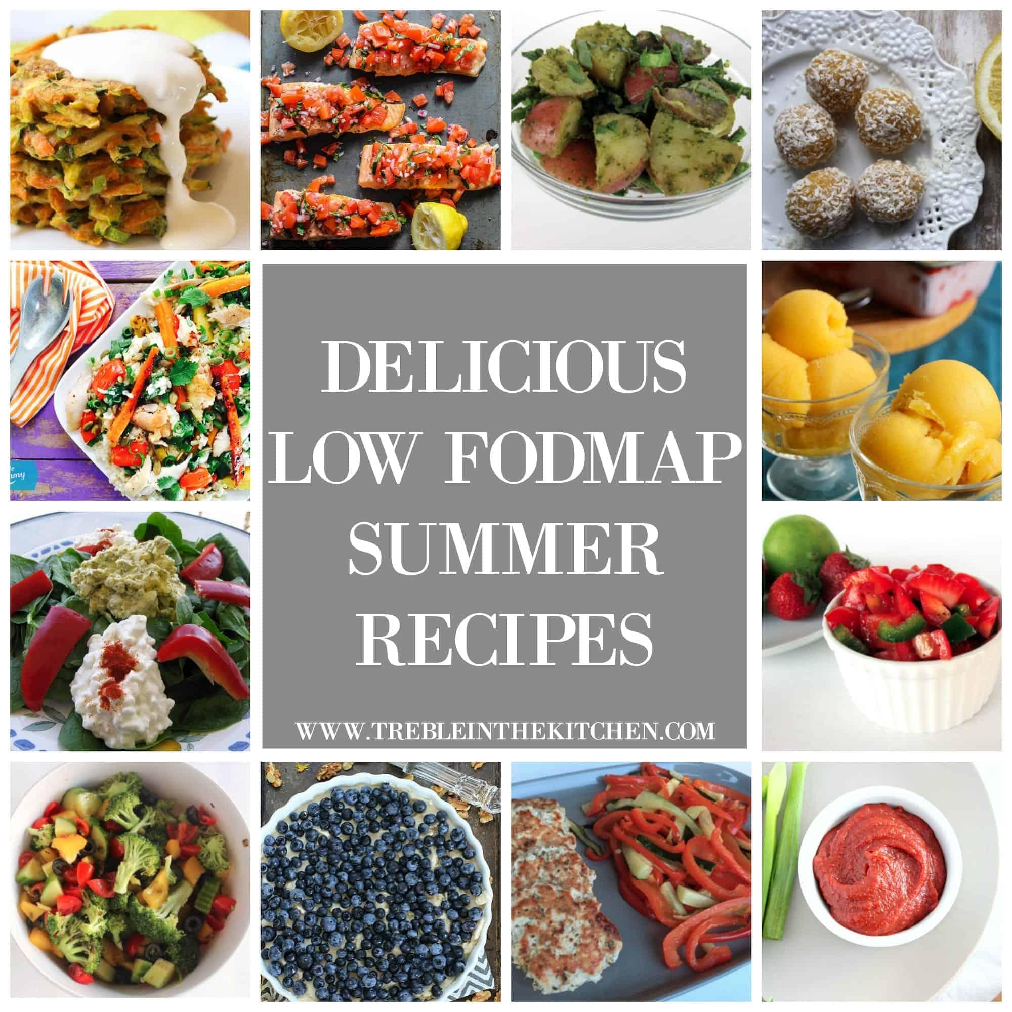Delicious Low FODMAP Summer Recipes