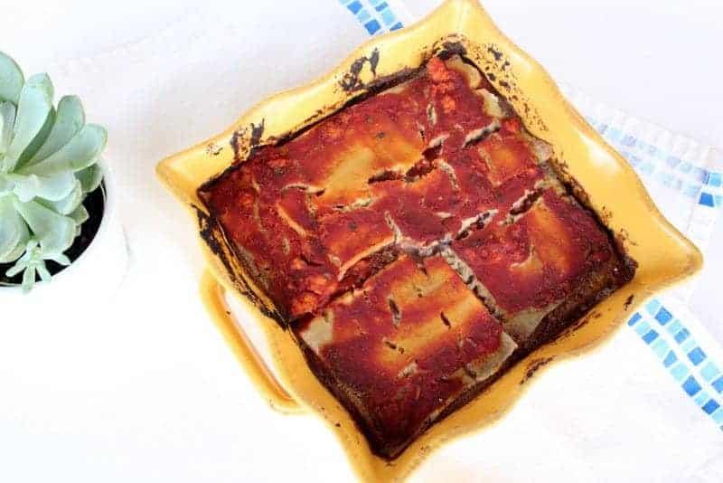 Roasted Vegetable Lasagna {Dairy Free, Paleo-Friendly}