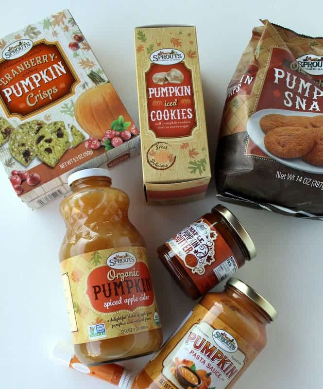 Sprouts Pumpkin Products