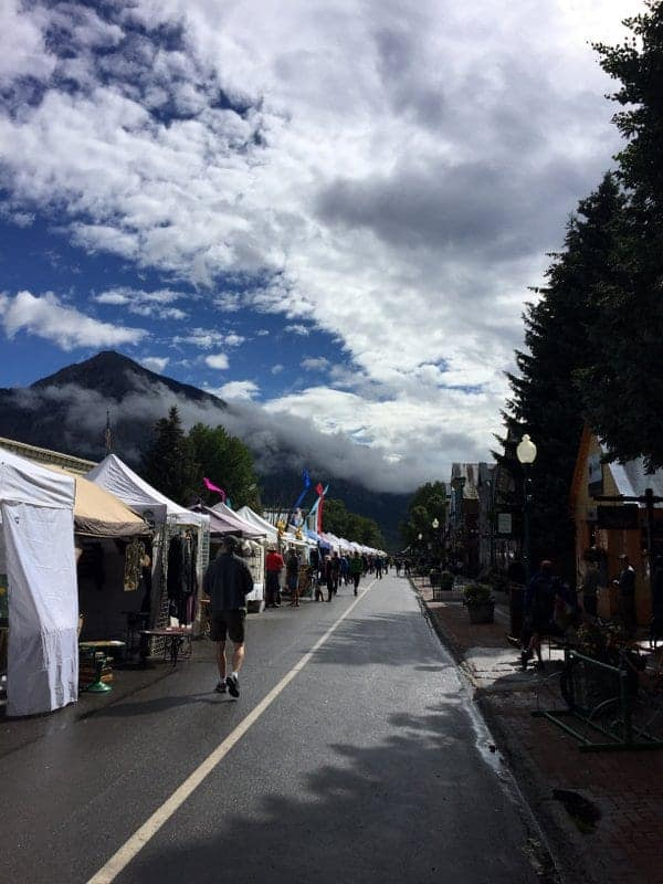 Camping in Crested Butte, CO