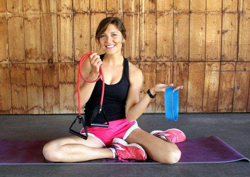 Lower Body Resistance Band Workout from Treble in the Kitchen
